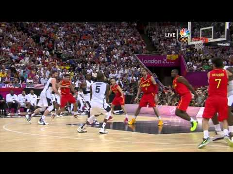 2012 OLYMPIC GAMES. FINAL. USA vs SPAIN