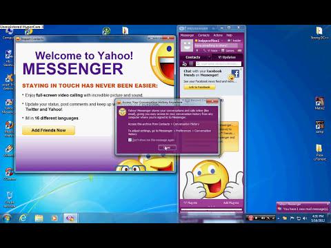 Cum se creaza o adresa de Yahoo Messenger
