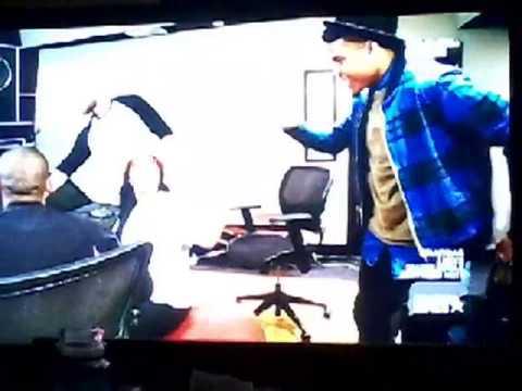 Nana in the studio with jge