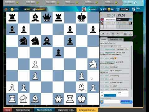 Bird's Opening : Kingscrusher vs Cafe Team consultation game - Bird's Opening : Polar Bear