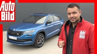 Skoda Kodiaq RS (Paris 2018) Sitzprobe / Details / Review