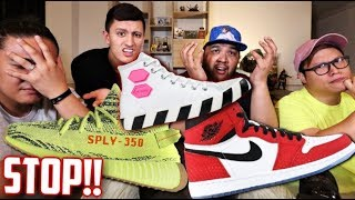 The PROBLEMS with these OFF-WHITE, YEEZYS and Spiderman 1s! with Carlo Ople!