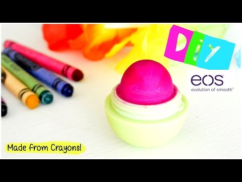 DIY EOS Lip Balm Made From Crayon's! | EASY & FAST!