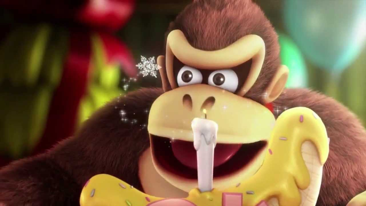 Donkey Kong Country Tropical Freeze Intro New Footage