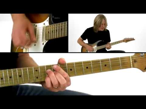 Blues Guitar Lesson - #2 Comping - Andy Timmons