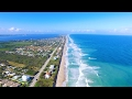 Melbourne Beach, Florida Drone Footage before Hurricane IRMA