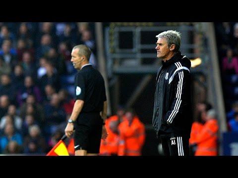 Alan Irvine evaluates West Bromwich Albion's 1-0 Premier League defeat by Arsenal