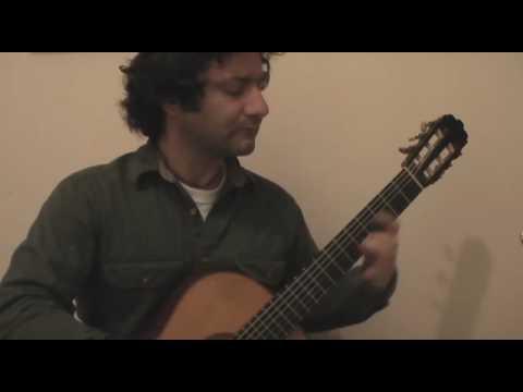 Canço del lladre - arranged by Miguel Llobet