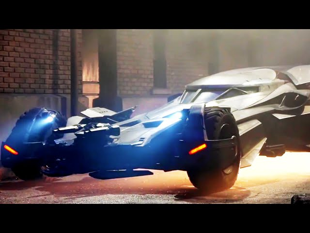 Batman v Superman: Dawn of Justice B-Roll - Batmobile (2016) Ben Affleck Superhero Movie HD