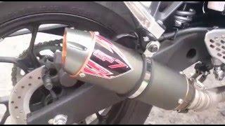Suara Knalpot Racing GP7 Yamaha R25 Magnum GP CNC
