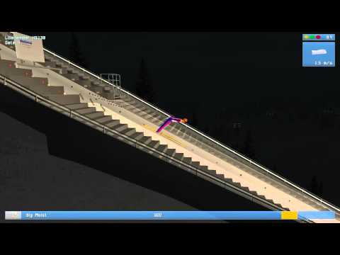 Deluxe Ski Jump Gameplay and Commentary