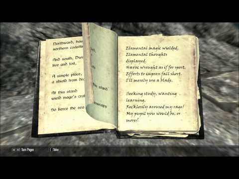 Let's Read Power of the Elements (Let's Read The Books of Skyrim. Book 378)