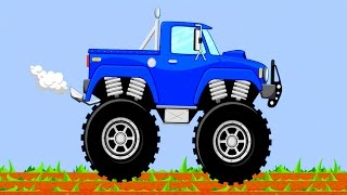 Learning colors Monster Truck Teach Colours, Baby Toddler Preschool