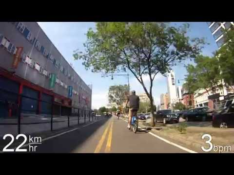 Biking in NYC - Hudson River Greenway