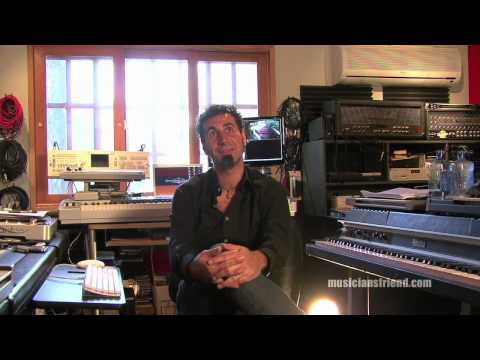 Serj Tankian (System of a Down) Home Studio Tour & Interview Part 1 of 3