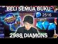 BUKA SEMUA BUKU 2000 DIAMONDS! UNTUNG PARAH! | Mobile Legends MP3