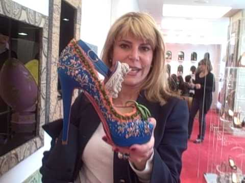 Christian Louboutin launch of Marie Antoinette inspired limited shoe collection
