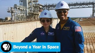 BEYOND A YEAR IN SPACE | Touring the Launch Pad | PBS