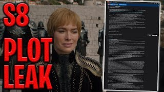 Game of Thrones Season 8 Plot Leak! | Game of Thrones Season 8
