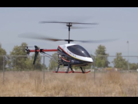 UDI U-12 and U-12A Giant Scale RC Helicopter w/ FPV Spy Camera