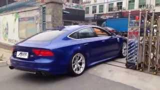 Audi A7 3.0T Sportback w/ Armytrix Cat-Back Performance Valvetronic Exhaust