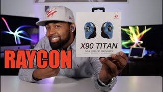 RAYCON X90 Titan Earphone Review 🤯🎧🖤