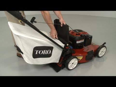 Grass Bag - Toro Lawn Mower