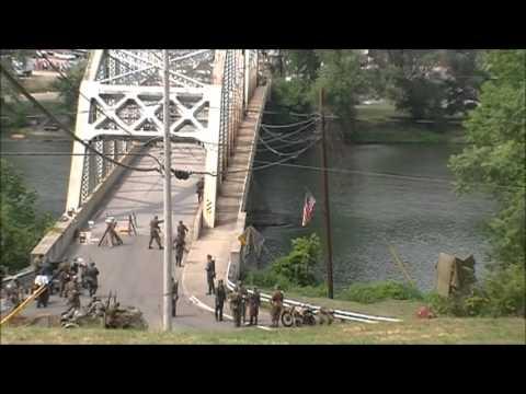 Bridge at Remagen Pt 2. Reenactment