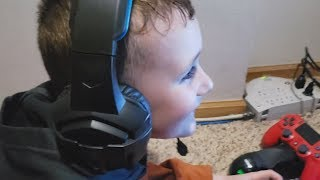 My Son's Reaction To Me Doing ALL His Season 8 Challenges In 4 Hours
