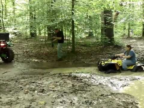 arctic cat 700, 350 rancher riding at natchez trace state park