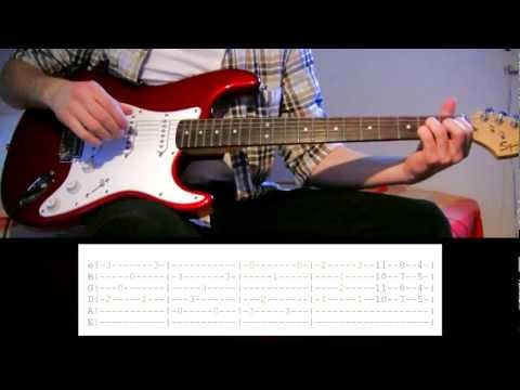 Guitar Lesson: Red Hot Chili Peppers - Road Trippin'