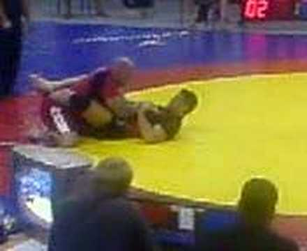 jeff monson and tom blackledge grappling Image 1