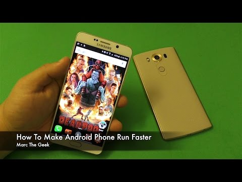 How To Make Android Phone Run Faster