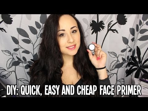 DIY: Quick. Cheap & Easy Face Primer   MsNikkiGBeauty