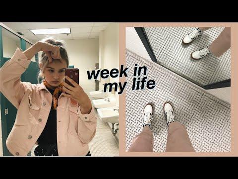 a week of my life in high school vlog