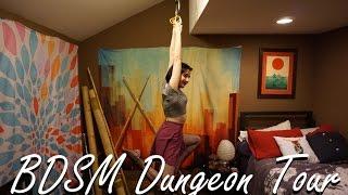 BDSM House Dungeon Tour