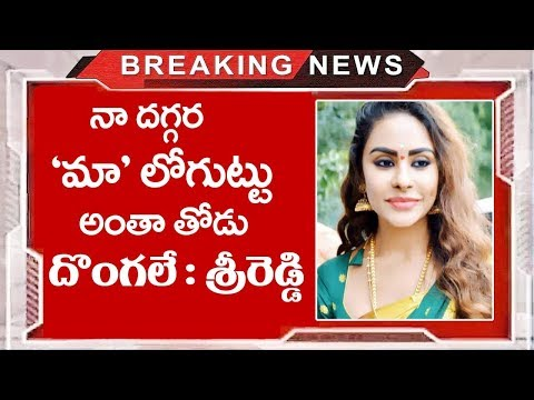 Sri Reddy Shocking Comments on Maa Movie Association | Sri Reddy Latest News | Top Telugu Media