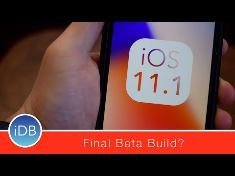 What's New in iOS 11.1 Beta 4 for iPhone, iPad, & iPod Touch - Final Beta Build?