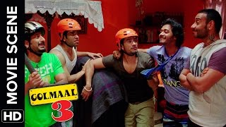 Kambal Mein Pa Hain | Golmaal 3 | Comedy Movie Scene