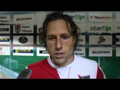 Slávisté remizovali v P�íbrami 0:0. Utkání hodnotí pro Slavia TV Mario Li�ka a Tomáš Mi�ola.