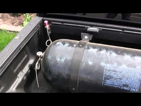 CNG Cylinder Tank CNG Conversion 2010 Toyota Tundra SkyCNG