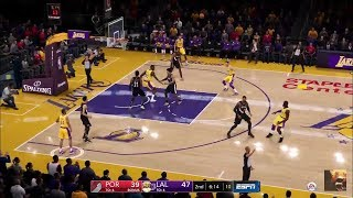 NBA LIVE 19 Blazers vs Lakers LIVE STREAM