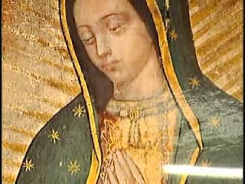La imagen de la Virgen tiene vida