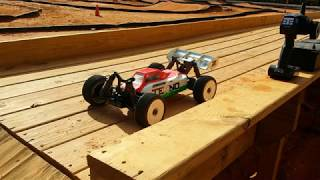 Tekno EB48.4 E-Buggy  Main (A1) @ Thunder Alley RC Speedway