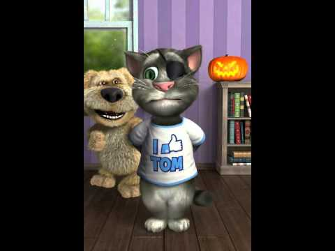 Talking Tom - Tom Sings Booty Bounce By Dev Then Ben Farts video