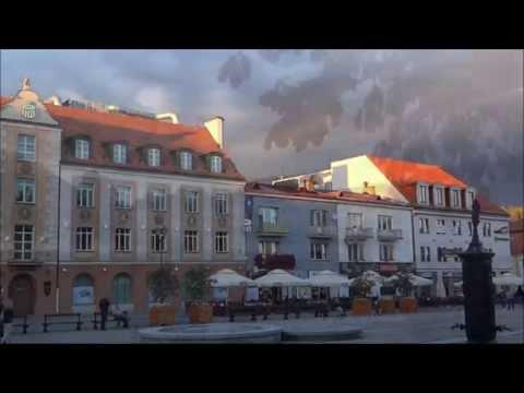 Białystok - Pałac Branickich I Rynek Kościuszki