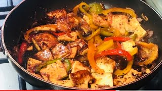low calories high protein | Vegetarian can eat meat now | veggie food ideas | tofu with vegetable
