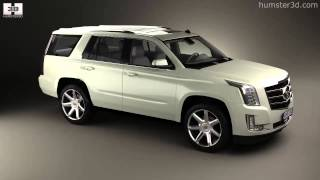 Cadillac Escalade 2015 by 3D model store Humster3D.com