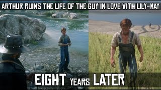 Arthur Ruined The Life of the Heartbroken Stone Thrower - Eight Years Later -  Red Dead Redemption 2