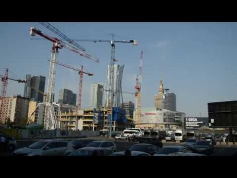 Warszawa - Varso Tower - Budowa (07.09.2018)